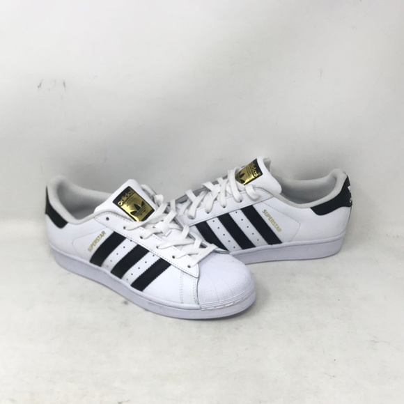 buy online 71211 390a4 Adidas Superstar Youth Shoes Blk/Wht/Gld (b2b3)